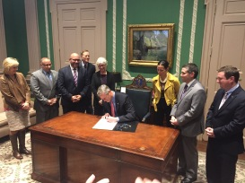 COVER 2. bill signing